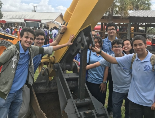 Students Enjoy Construction Career Day
