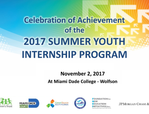 2017 Internship Celebration Was A Great Success!