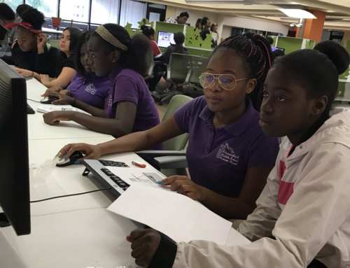 """Girls Who Code"" Are Intensely Focused!"