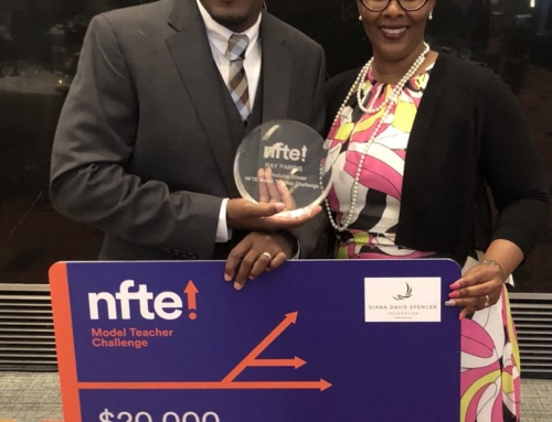 Ray Parris Wins NFTE Award!