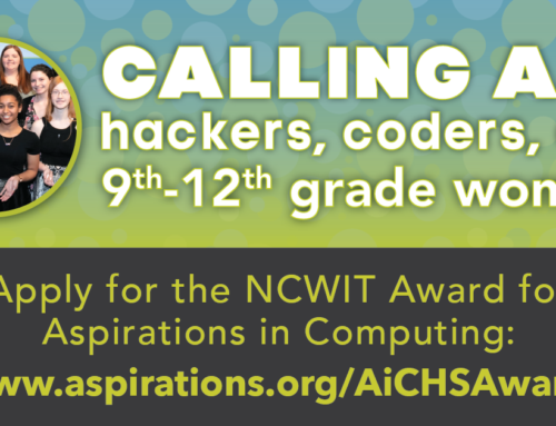 NCWIT Aspirations in Computing Awards