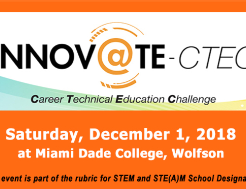 2018 Innovate CTE Challenge to be held Dec. 1st