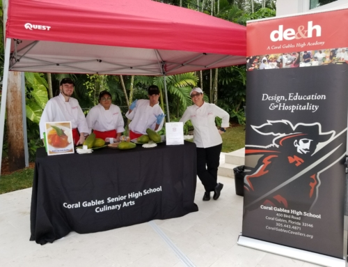 "Coral Gables Culinary Students Participate in ""Tour of Kitchens"""