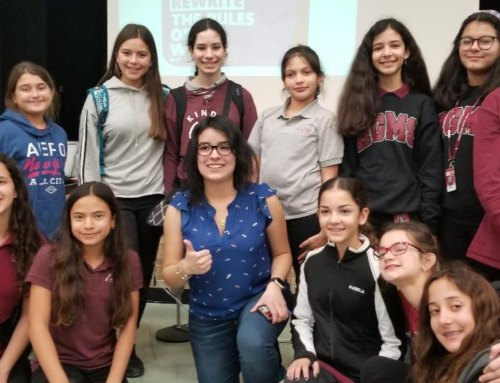 Microsoft and NASA Female Executives Speak to Hialeah Gardens Middle Female IT Students