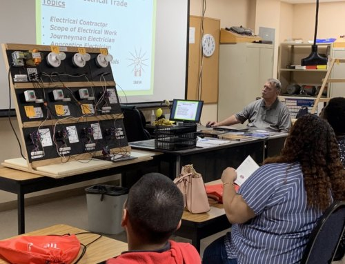 Coral Gables Pre-Apprenticeship Students Attend ARPEC Career Day