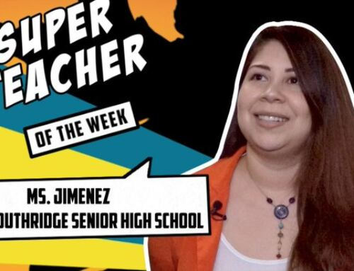 Super Teacher of The Week